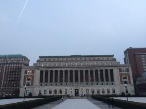 ロー図書館とバトラー図書館